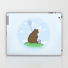 Cloudy the Bear Laptop & iPad Skin