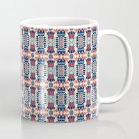 camp Mugs featuring Camp by Daniac Design
