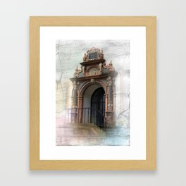 come in  Framed Art Print