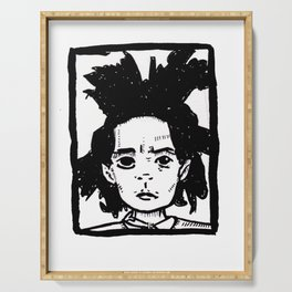 Basquiat Serving Tray