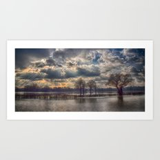 The Flood Of Winter Art Print