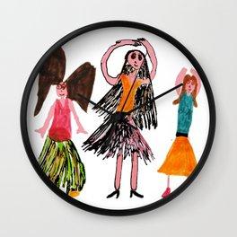 Angel Dance Wall Clock
