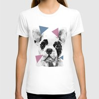 frenchie T-shirts featuring Frenchie by Esco