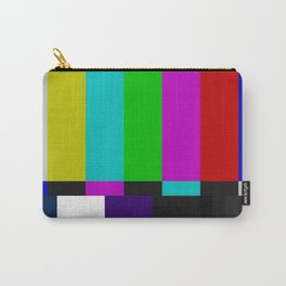 SMPTE Color Bars (as seen on TV) Carry-All Pouch