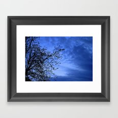 Here Comes the Night Framed Art Print