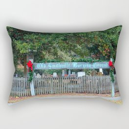 Peace To All Buried Here Rectangular Pillow