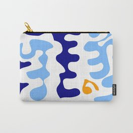 Abstraction in the style of Matisse 32 -blue and orange Carry-All Pouch