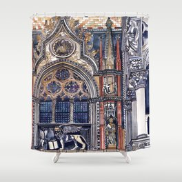 entrance to the Doge's Palace, Venice Shower Curtain