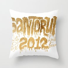 Santorum Throw Pillow