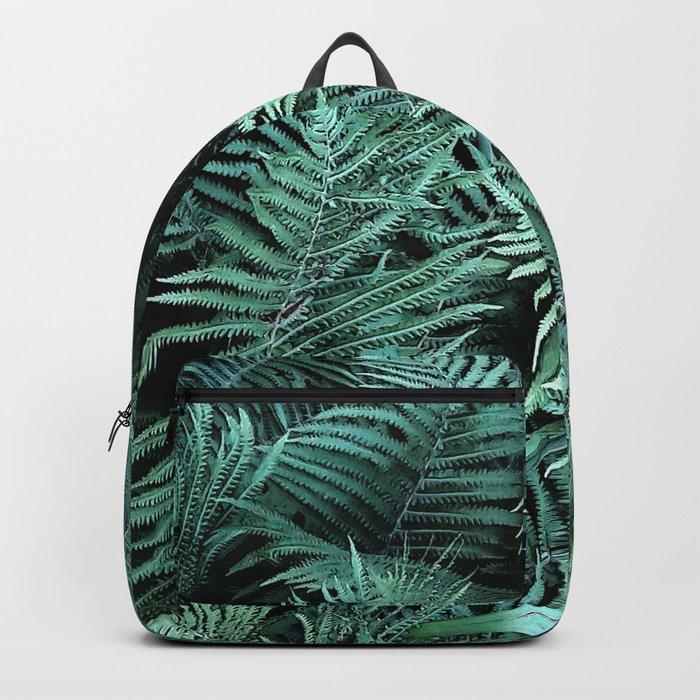 Fern , fern leaves Backpack