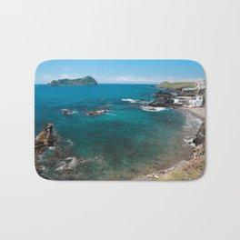 Small bay and islet Bath Mat