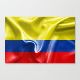 Colombian Flag Canvas Print