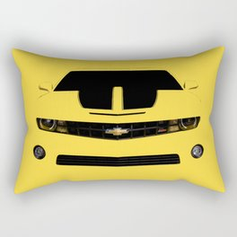 yellow car Rectangular Pillow