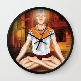 ARTIFICIAL INTELIGENCE ZEN Wall Clock