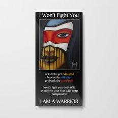 Compassion Warrior Metal Print