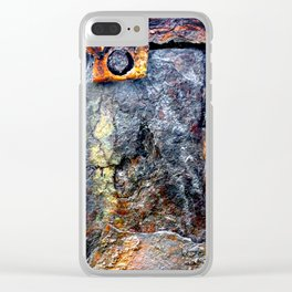 meEtIng wiTh IrOn no24 Clear iPhone Case
