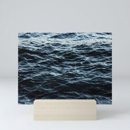 Sea Water Surface Texture 2 Mini Art Print