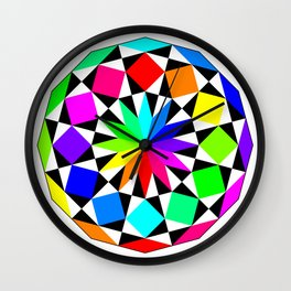 Dodecagon September 10 2017 Wall Clock