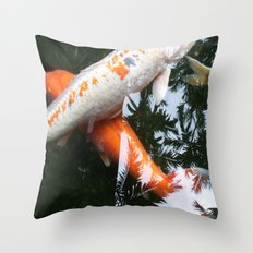 KOI -X Throw Pillow