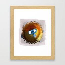 M for Monkey Framed Art Print