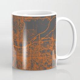 Phoenix map orange Coffee Mug