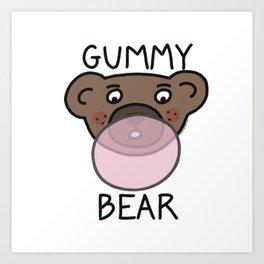 Gummy Bear Art Print
