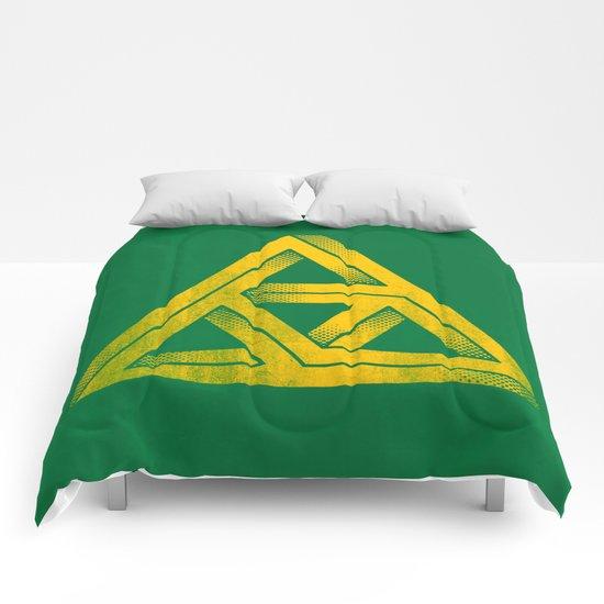 Penrose Triforce Comforters