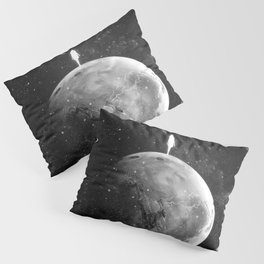The distance of wishing.  Pillow Sham