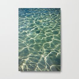 Water's background Metal Print