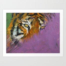 Shadow Tiger Art Print