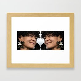 Love Is... Beginning With Yourself Framed Art Print
