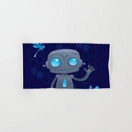 Waving Robot Hand & Bath Towel