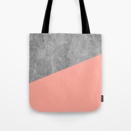 Simply Concrete Dogwood Pink Tote Bag