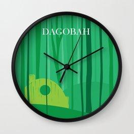 Dagobah Art Wall Clock