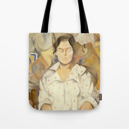 Rafael Barradas - Portrait of Pilar, 1919 Tote Bag