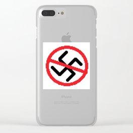 ANTI NAZISM Clear iPhone Case