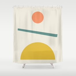 Sunrise / Sunset Shower Curtain
