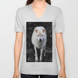 The Wolf Stare Unisex V-Neck