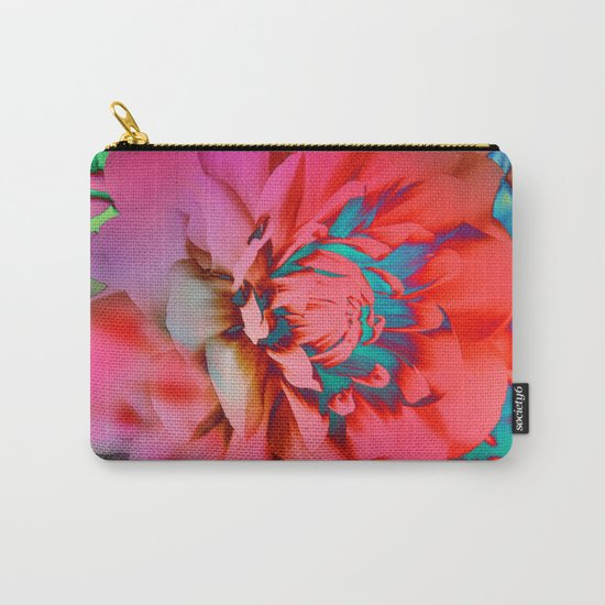 Proud Dahlias 2 Carry-All Pouch