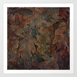 Winter's Gold Art Print