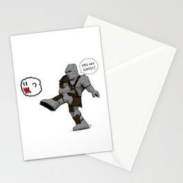 Piss off, Ghost! Stationery Cards