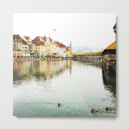 Lucerne.  Switzerland. Metal Print
