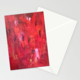 Meditations on Red Stationery Cards
