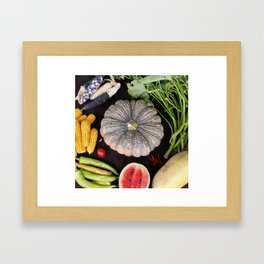 Nature's Wonderful Gift Framed Art Print
