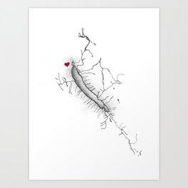 Otisco Lake Home Art Print