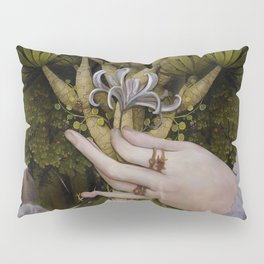 """""""The hands of Bosch and the Spring"""" Pillow Sham"""