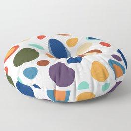 Terrazzo Abstract Pattern Floor Pillow
