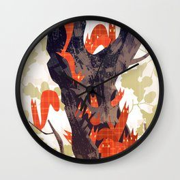 The Devils of Dark Bark Wall Clock