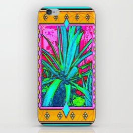 Tropical Foliage Western Style Abstract iPhone Skin