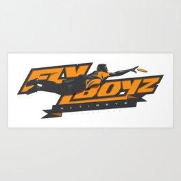 FLYBOYZ Art Print